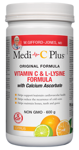Medi C Plus Citrus w Calcium 600g