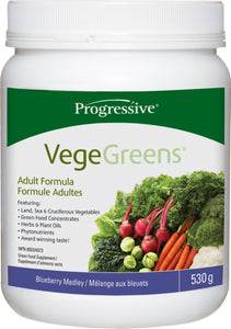 Progressive  VegeGreens Blueberry 530g