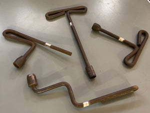 Iron Wrenches (Set of Four)