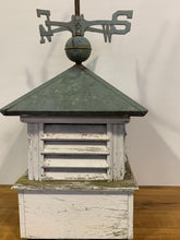 Load image into Gallery viewer, Cupola - Wood, Copper, Weather Vane