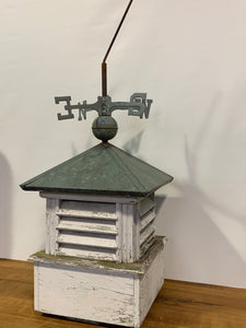 Cupola - Wood, Copper, Weather Vane