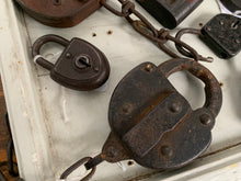 Load image into Gallery viewer, Collection of 15 Padlocks