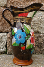 Load image into Gallery viewer, Vintage old Mexican red clay pitcher or vase
