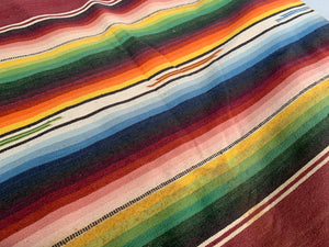 Woven Mexican Blanket
