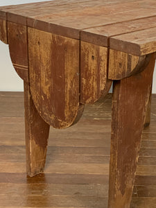 Folky Wood Side Table