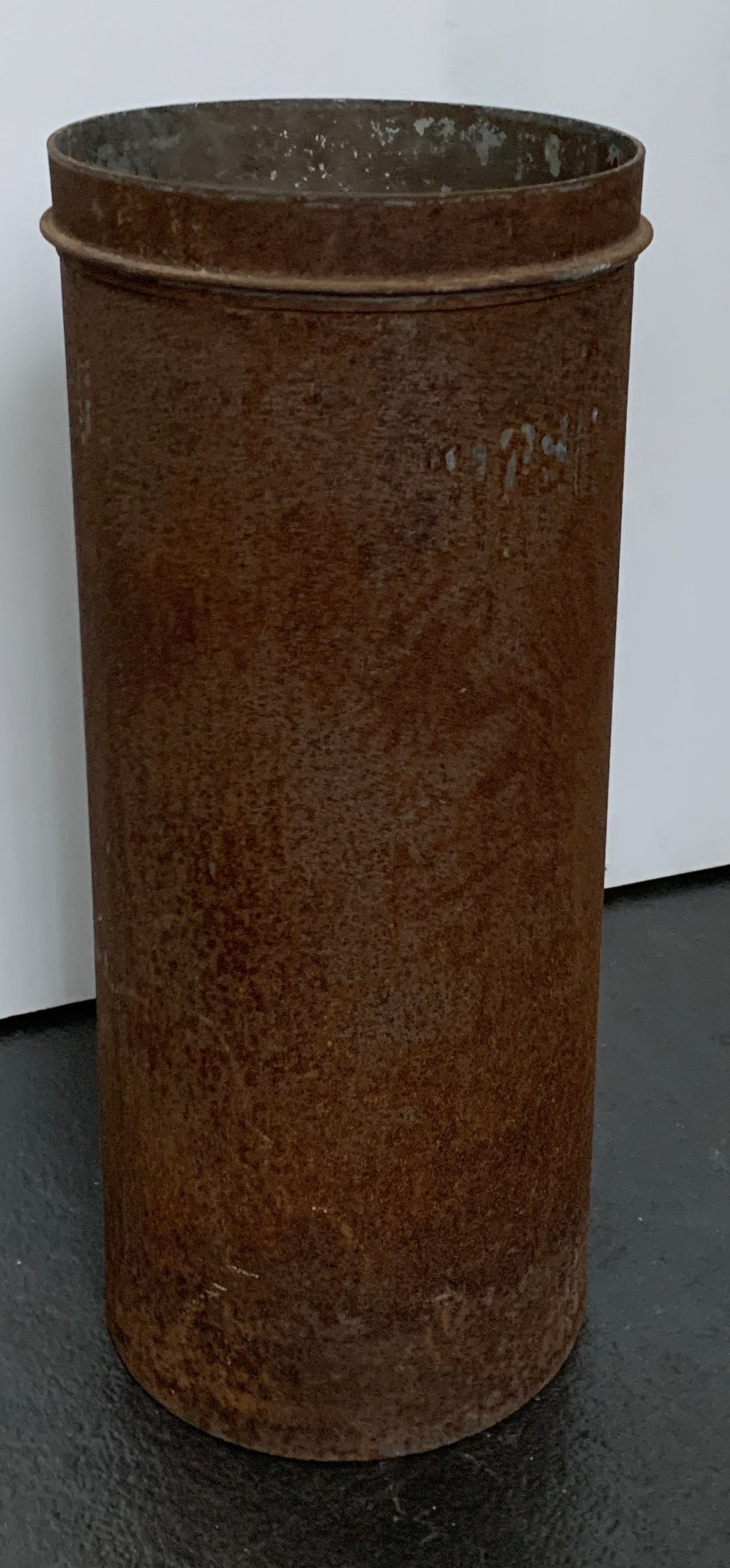 Tall Metal Container