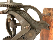 Load image into Gallery viewer, Buffalo Forge Drill Press. Model No 61 R