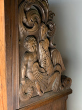 Load image into Gallery viewer, Oak Carved Bench - German