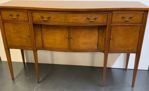 Sideboard on Legs with Pinstripe Inlay