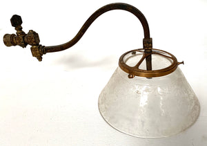 Gas Light Fixture