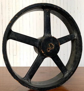 Factory Mold. Wheel Design. Foundry Pattern