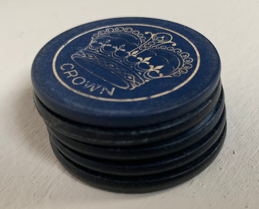 Five Poker Chips