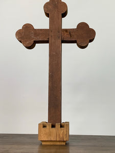 "Cross 25.5"" tall"