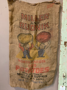 Miller Rudnik Potatoes Sack