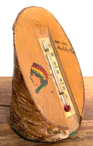 Souvenir Thermometer with Indian