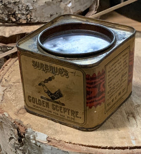 Small tobacco tin