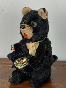 Tin Wind Up Bear Toy (As Is)