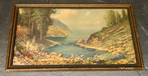 Framed Print - Inspiration Inlet by R. Atkinson
