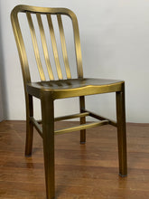 Load image into Gallery viewer, Metal Side Chair - Gold Color
