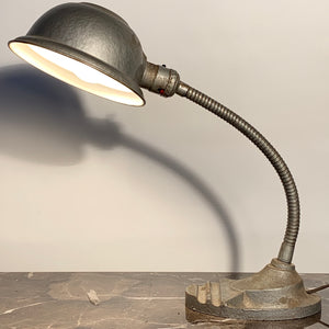 Gooseneck Lamp with Shade