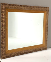 Load image into Gallery viewer, Large Mirror with Gold Frame