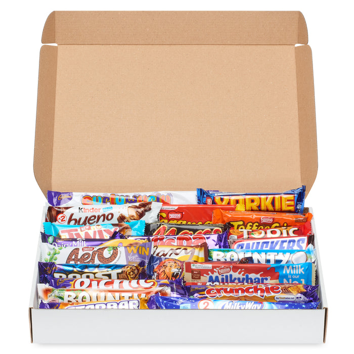 Create Your Own Chocolate Mega Box (25 Bars)
