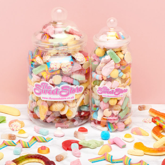 Create Your Own Sweet Jar (10 Fillings)