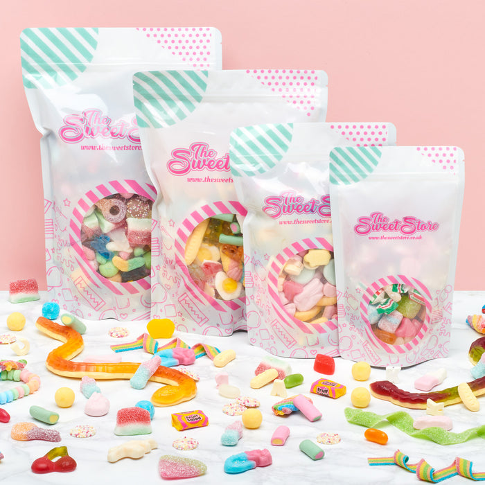 Create Your Own 250g Pick & Mix (Snack Pouch 5 Fillings)