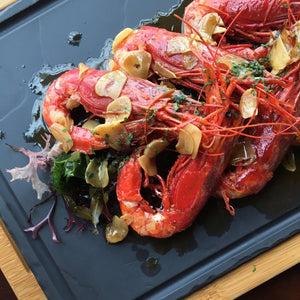 Spanish Carabineros Red Prawns (Frozen) 西班牙珍寶紅蝦 (急凍) ~1KG (16-20 Pieces) - FEAST