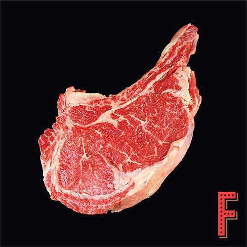 Australian Wagyu (M5) Bone In Prime Rib STEAK (Frozen) 澳洲特級和牛 (M5) 帶骨肉眼 (急凍) ~900 Grams - FEAST