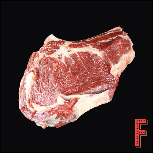 Canada AAA Bone In Prime Rib STEAK (Frozen) 加拿大AAA帶骨肉眼扒 (急凍) ~700 Grams / 24.5 Ounces - FEAST