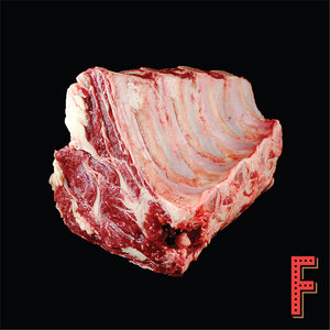 Canada AAA WHOLE Bone In Prime Rib Eye (Frozen) 原條加拿大AAA帶骨肉眼扒 (急凍) ~4.5KG - FEAST