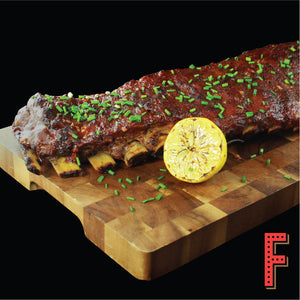 Grilled US Pork Spare Ribs With Barbecue Sauce	燒烤醬焗豬肋骨 - FEAST