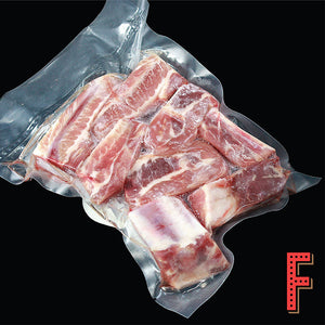 US 2 Inch Pork Ribs (Frozen) 美國2吋豬排骨 (急凍) ~500 Grams - FEAST