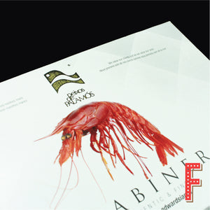 Spanish Carabineros Red Prawns (Frozen) 西班牙珍寶紅蝦 (急凍) ~1KG (16-20 Pieces)