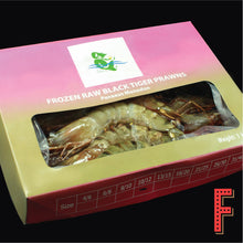 Load image into Gallery viewer, Indonesia Head-On Tiger Prawn (Frozen) 印尼有頭虎蝦 (急凍) ~1KG (10 - 12 Pieces) - FEAST
