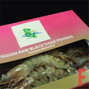 Indonesia Head-On Tiger Prawn (Frozen) 印尼有頭虎蝦 (急凍) ~1KG (10 - 12 Pieces) - FEAST