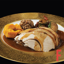 Load image into Gallery viewer, Roasted Turkey With Cranberry Sauce And Turkey Glaze 香草烤火雞配紅莓醬及香濃火雞肉汁 - FEAST