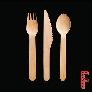 竹製餐具套裝 Bamboo Cutlery Set - FEAST