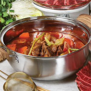 香濃蕃茄牛筋腩火鍋套餐 (4-10人) Tomato with Beef Brisket & Tendon Hot Pot Set (4-10 Persons) - FEAST