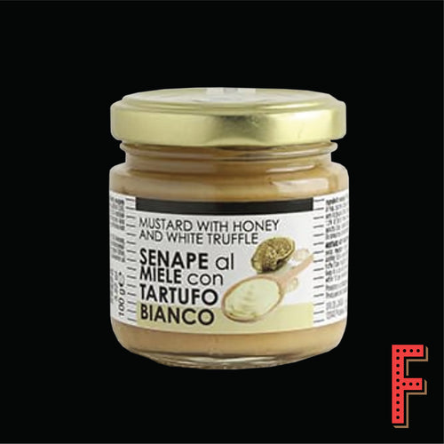 Italy Tartuflanghe Mustard With White Truffle And Honey 意大利Tartuflanghe白松露蜂蜜芥末 200 Grams - FEAST