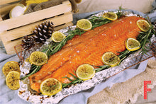 Load image into Gallery viewer, Salmon Party Set 三文魚派對套餐 (Includes Main Course, Meat, Side Dish And Dessert 包括主菜,肉類, 配菜及甜品) (Serves 8-10 Persons / 8-10 人份量) - FEAST