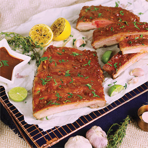 照燒三文魚西式到會套餐 (4-10人) Teriyaki Salmon Western Catering Set (For 4-10 Persons) - FEAST