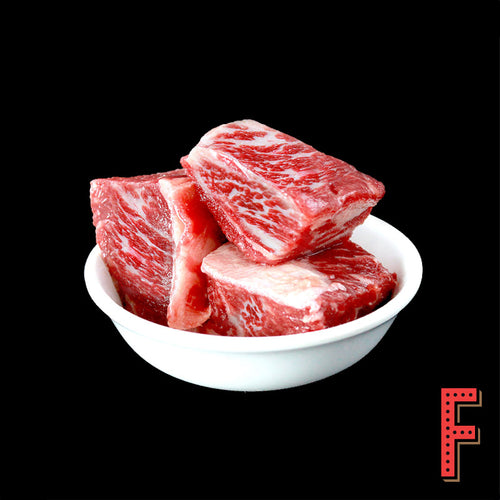 USDA Prime Boneless Short Rib Cubes (Frozen) 美國極佳級牛小排粒 (急凍) ~500 Grams - FEAST