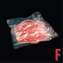 Load image into Gallery viewer, USDA Black Angus Boneless Short Rib Slice (Frozen) 美國黑安格斯牛小排片 (急凍) ~500 Grams - FEAST