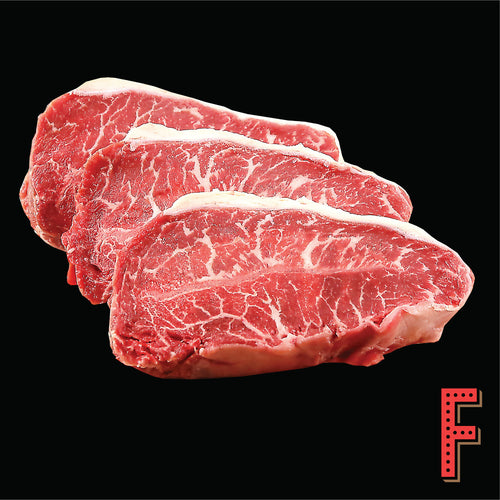 USDA Prime Top Blade Steak (Frozen) 美國極佳級牛板腱扒 (急凍) ~ 300 Grams / 10 Ounces - FEAST