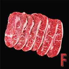 Load image into Gallery viewer, USDA Prime Top Blade SLICE (Frozen) 美國極佳級牛板腱片 (急凍) ~ 500 Grams / 18 Ounces - FEAST
