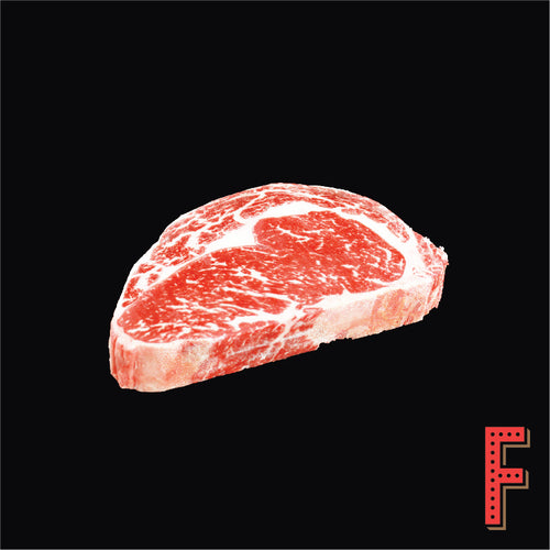 Australian Wagyu (M5) Rib Eye STEAK (Frozen) 澳洲和牛 (M5) 肉眼扒 (急凍) ~300 Grams / 11 Ounces - FEAST