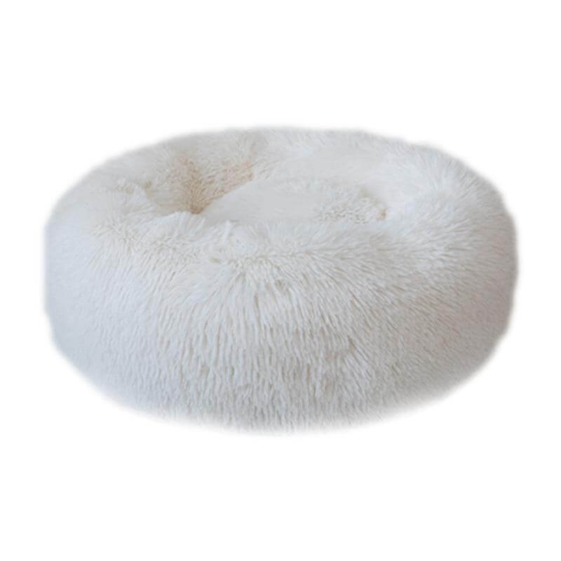 Round Plush Pet Bed - Wise Pets