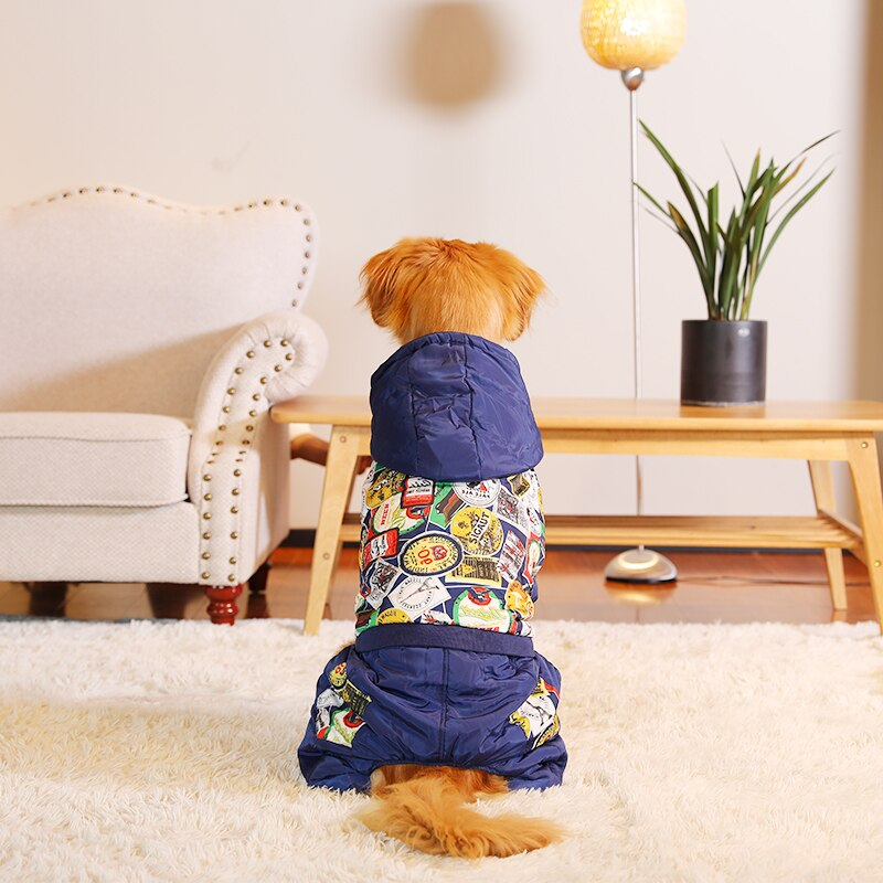 Best Fashion  Waterproof Dog Coat - Wise Pets